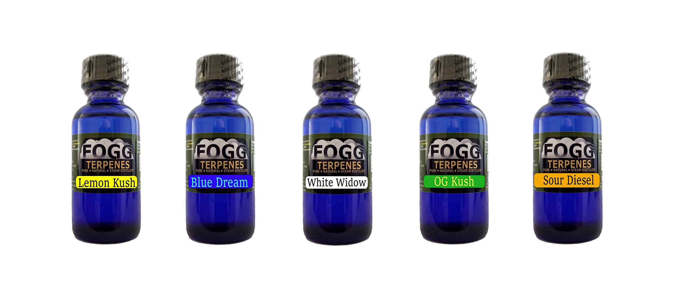 FOGG Terpenes - Bestsellers Collection (30 ml)