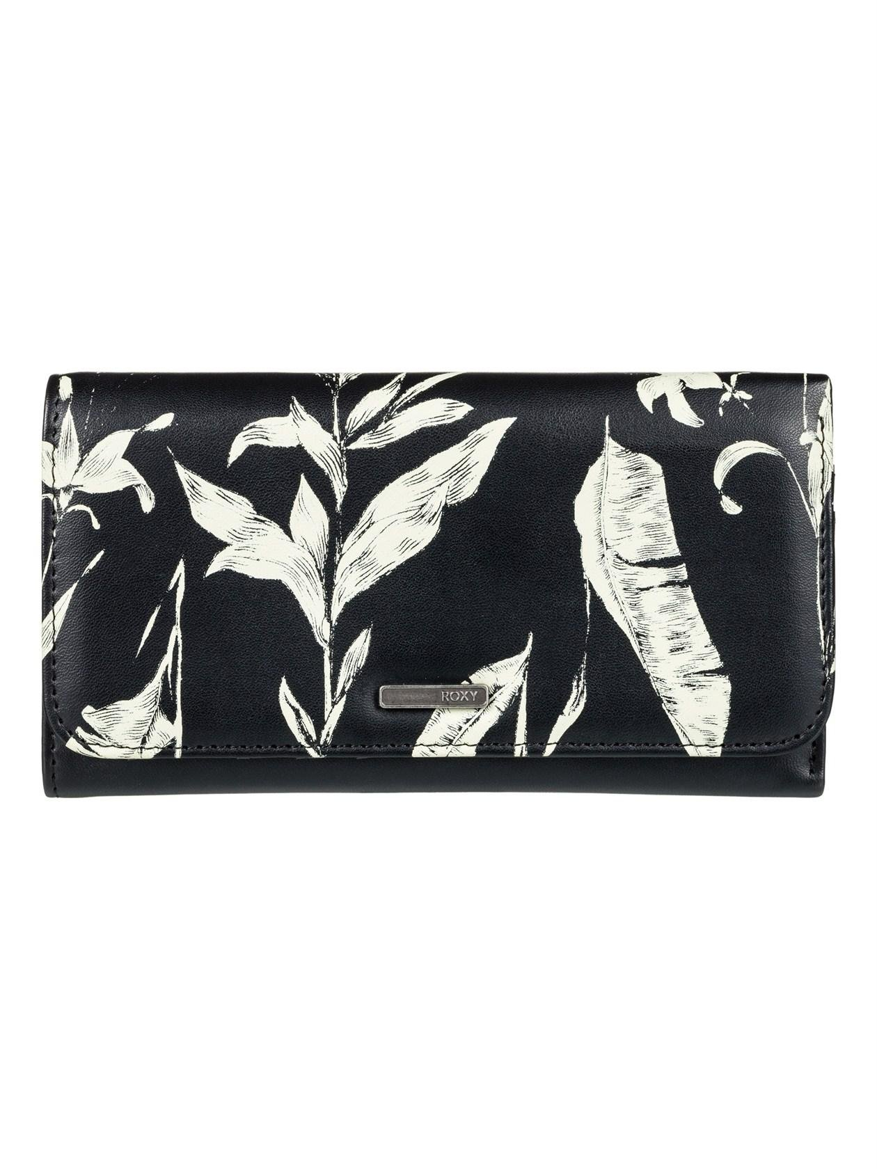 Roxy My Long Eyes Womens Purse One Size Anthracite Love Letter