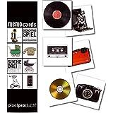 Pixel Products PIXMC008 - Memo Cards - Suche Drei Zeiten