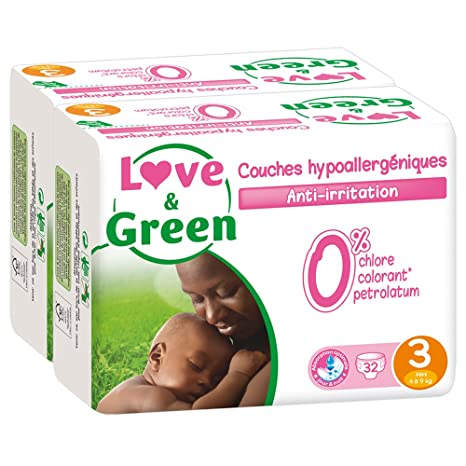 couche love and green t4