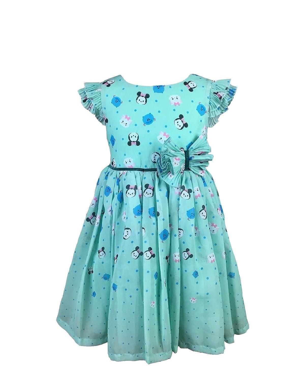 Amazon.com: Disney Tsum Tsum Girls Chiffon Dress: Clothing