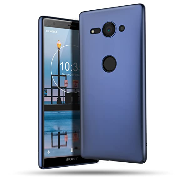 B BELK Sony Xperia XZ2 Compact Case, Ultra Slim Thin Snug-Fit Scratch Resistant Premium PC Hard Protective Cover with Matte Finish Coating for Sony ...