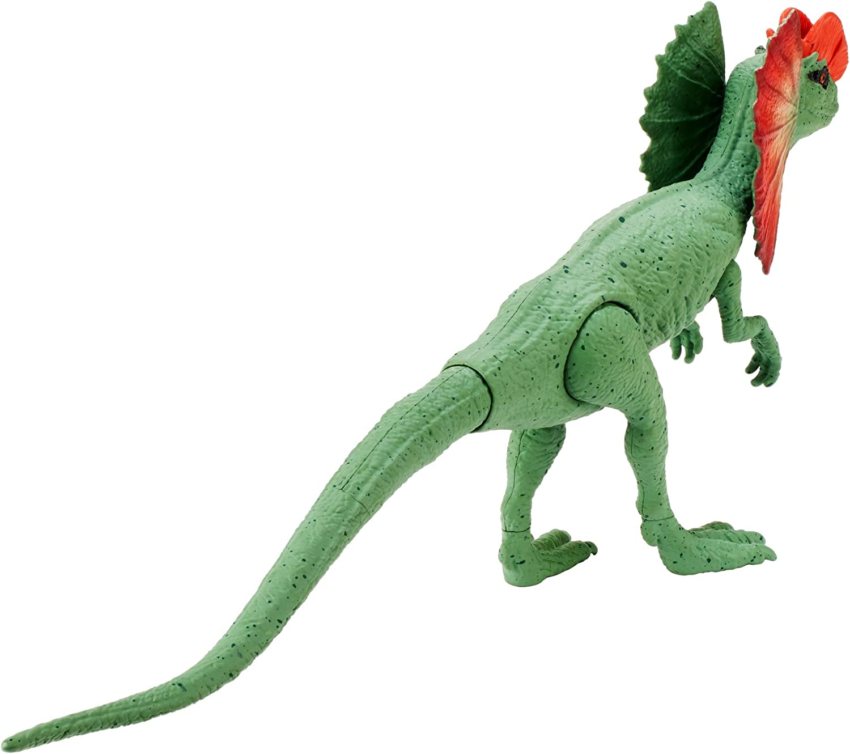 Jurassic World Basic Dino Dilophosaurus Figure Mattel FVL38