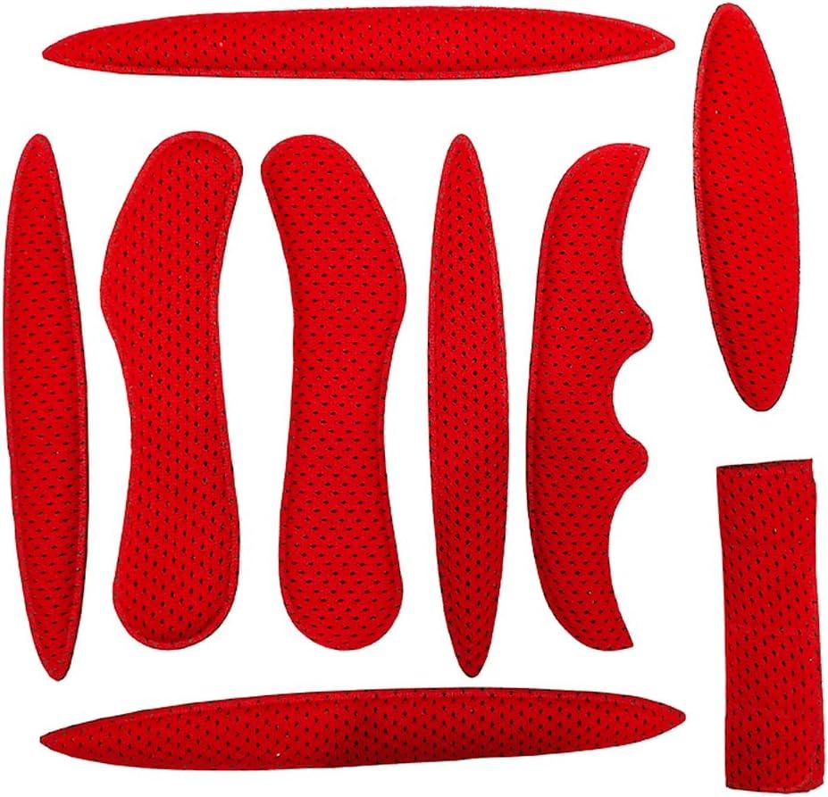 LUNAH Coussinet de Casque de V/éLo D/équitation Antichoc Souple Doubl/é de Casque,Convient /à Tout Type de Casque Kit de Rembourrage de Casque de V/élo en Mousse EVA