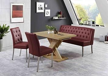 Sitzbankgruppe Santa Ii Set Essgruppe Tischgruppe 2 Stühle