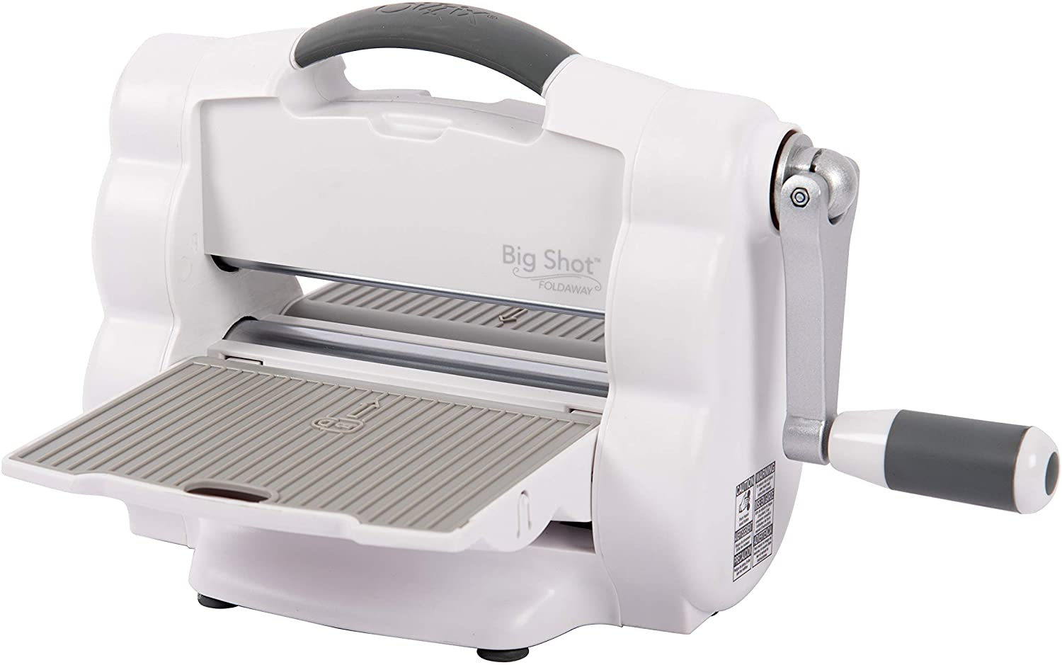 Sizzix 662500 Big Shot Foldaway, A5 Manual Die Cutting and Embossing Machine, 6inch (15.24cm) Opening, Multicolor