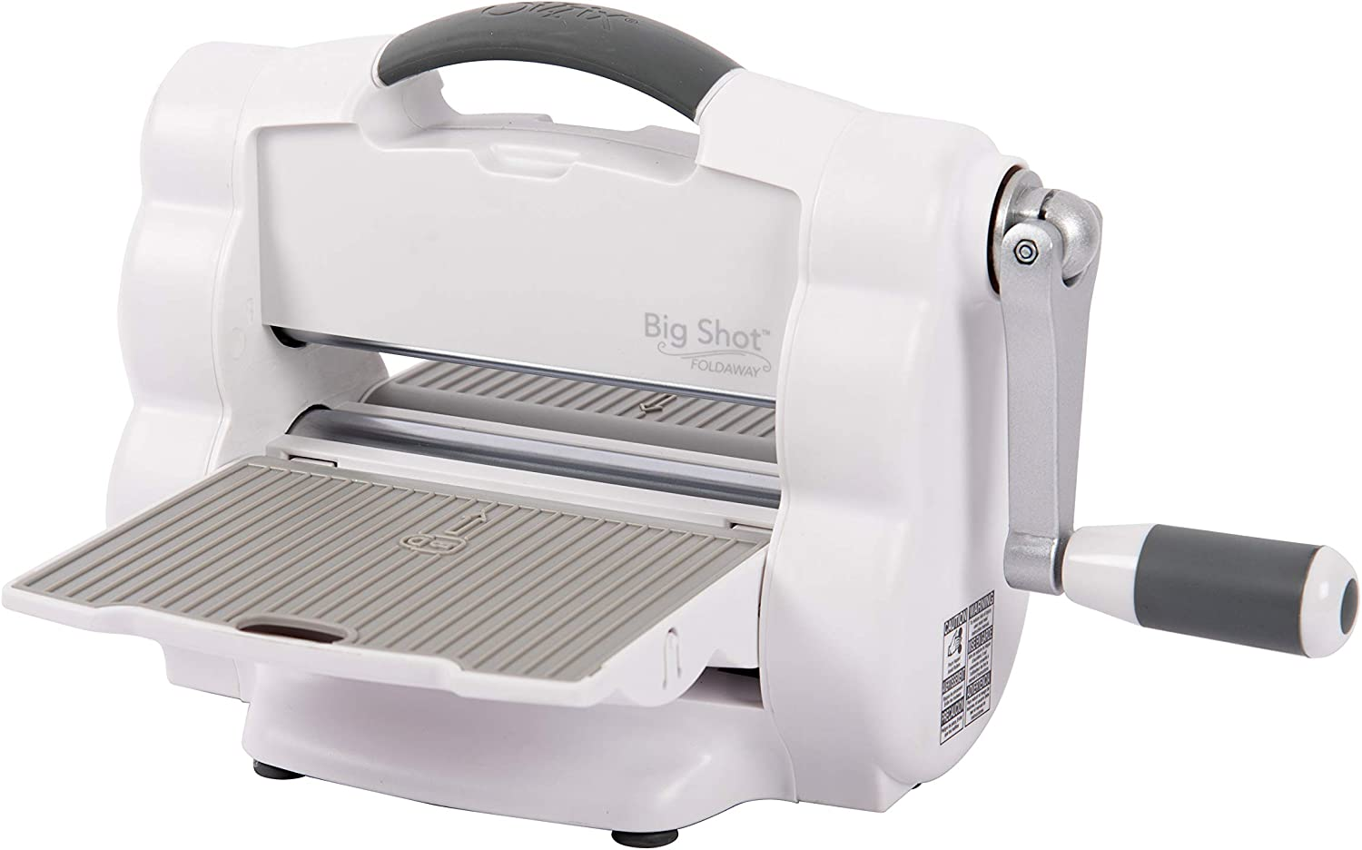Sizzix Big Shot Foldaway A5 Machine - A manual model that can fit an A5 piece of paper