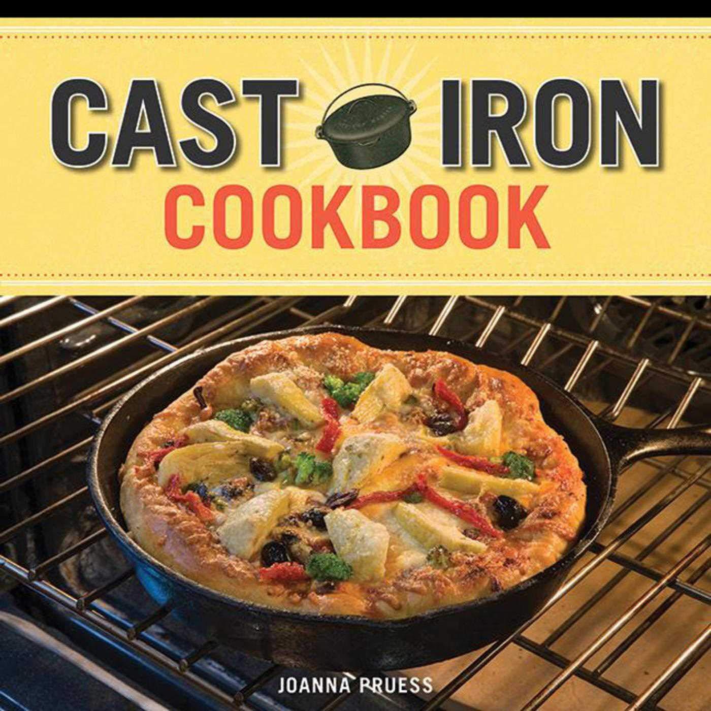 Cast Iron Cookbook Recipe Deck product image