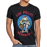 style3 Los Pollos T-Shirt Herren