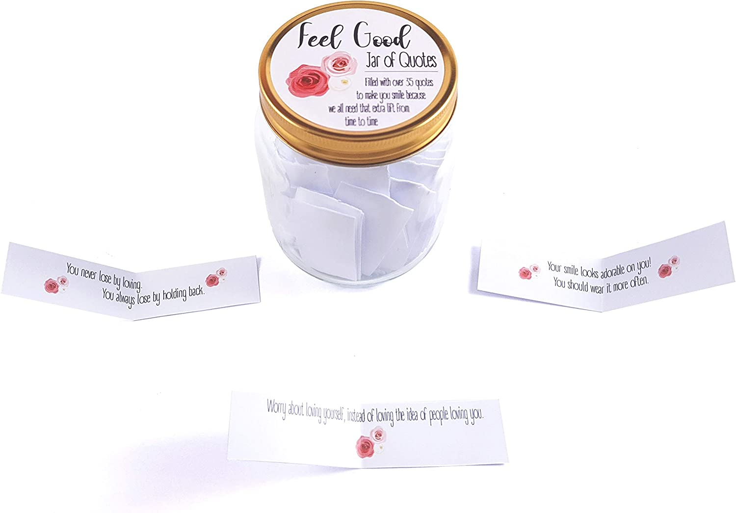 feel good jars thoughtful inspiring quotes motivational