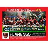Pôster A4 - Flamengo Campeão Carioca - 2020