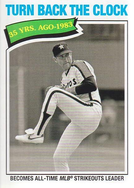 2018 Topps Archives Baseball 317 Nolan Ryan Tbtc Houston Astros At
