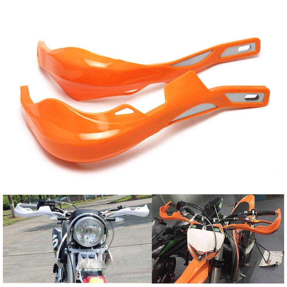KKmoon 22mm 28mm ATV Dirt Bike Hand Guards Protector Moto Moto Manubrio Handguard Motocross Maniglia di Protezione Nero