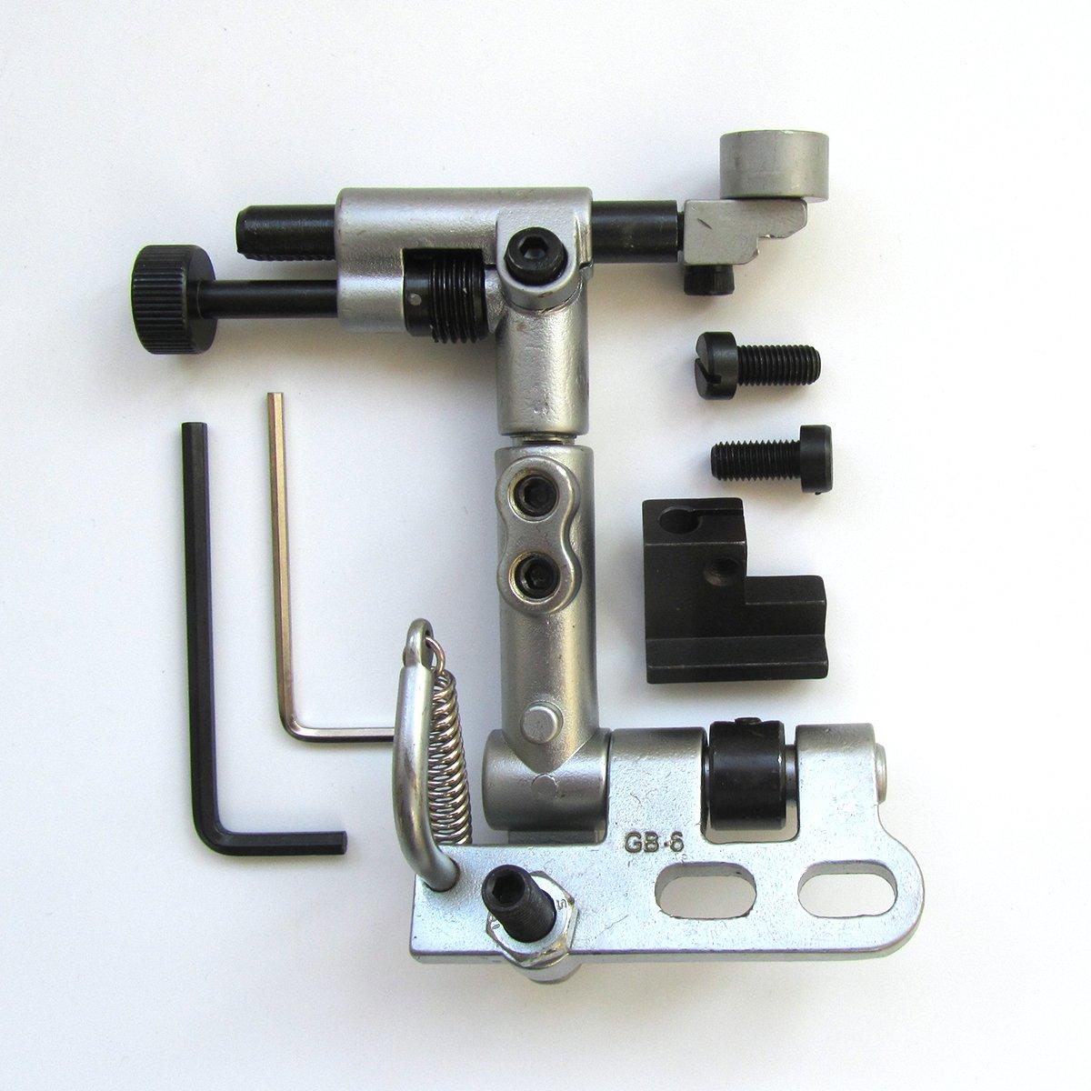 #GB-6 1SET Suspended Edge Guide for Juki LU-1508 LU-1510 Industrial Sewing Machines KUNPENG