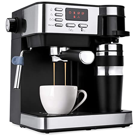 Amazon.com: Best Choice Products 3-in-1 15-Bar Espresso ...