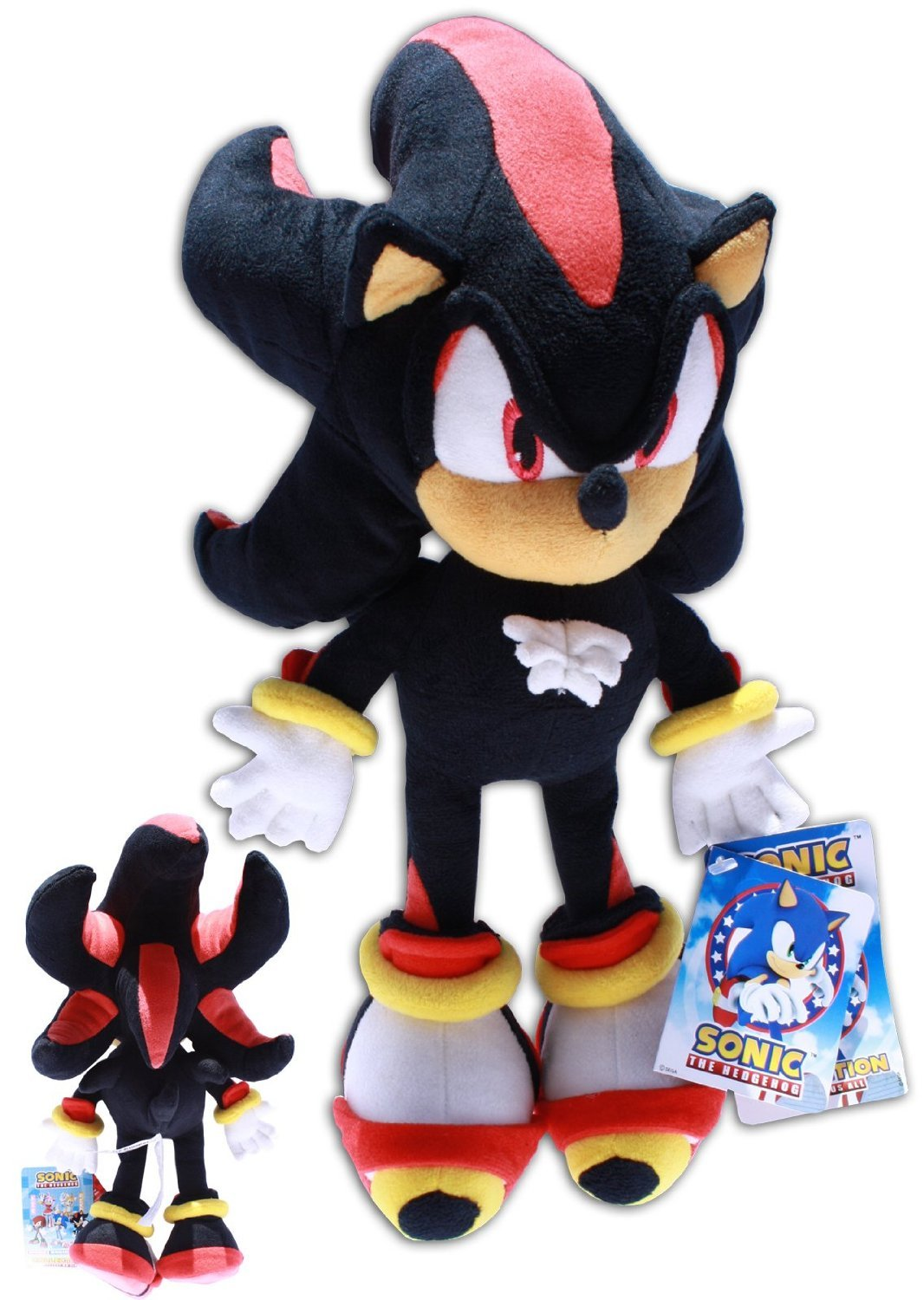 Shadow The Hedgehog Dress Up Games - Shadow the hedgehog plush 14 sonic x video game black soft toy doll supersoft amazon co uk toys games