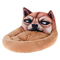 Cama Pet Digital Print Estampa Cachorro Marrom 50x40cm - Meu Pet