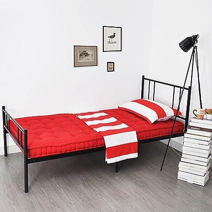 Individual Estructura de cama de metal con Cabecera, Eggree (TM ...