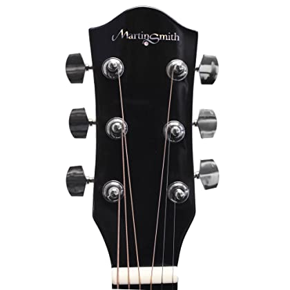 Martin Smith W 101 N Pk Acoustic Guitar Super Kit With Stand Natural