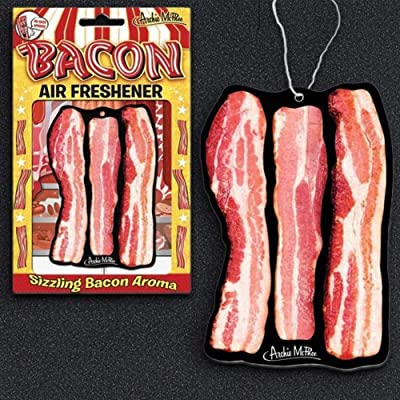 Accoutrements Bacon Air Freshener: Toys & Games