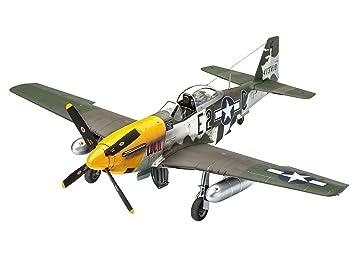 Revell-P-51D-5NA Mustang (Early Version Kit Modelo, (03944)