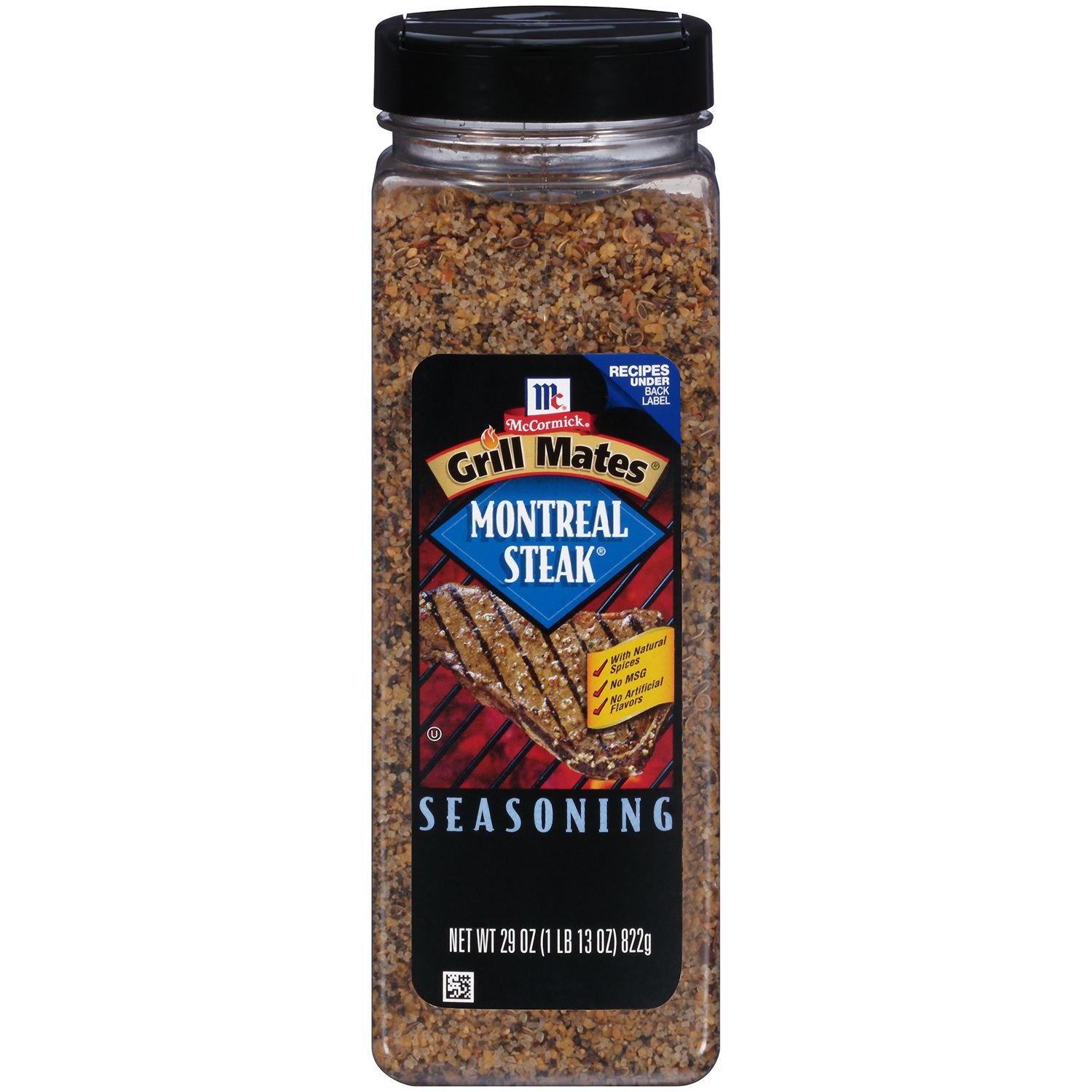 Product of McCormick Grill Mates Montreal Steak Seasoning (29 oz.) - Salt, Spices & Seasoning [Bulk Savings] (29oz Value Size)