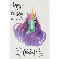 Happy 8th Birthday Notebook: Writing Journal Lined Pages Size 7x10 Inches 100 Pages