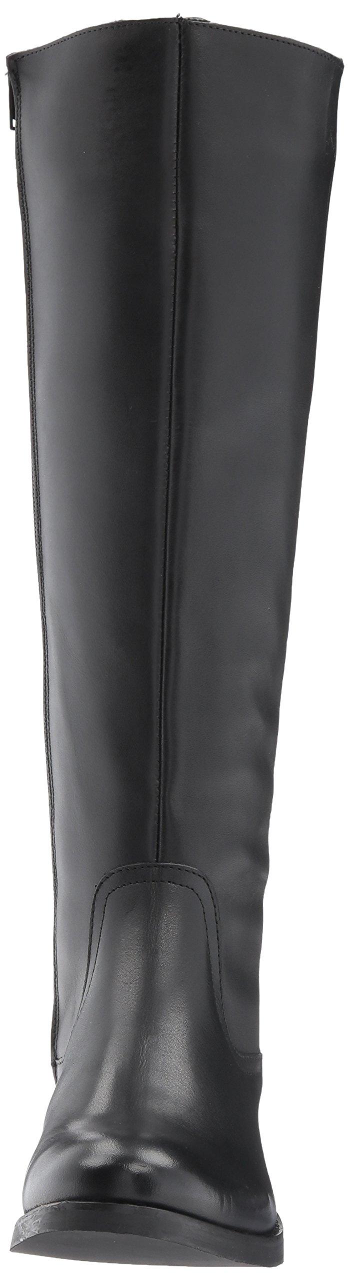 Steve Madden Women's Lover Western Boot, Black Leather, 8.5 M US by Steve Madden (Image #4)