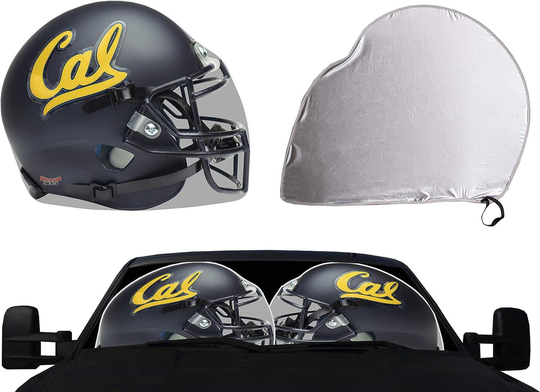 Golden Bears University of California Auto Sunshade