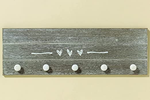 5 serie Armario gris blanco Madera 40cm lang Shabby Chic ...