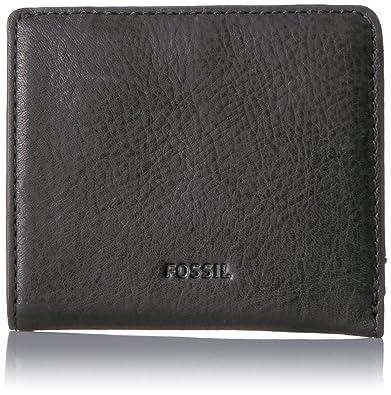a241c0d2ae9 Amazon.com: Fossil Women's Emma RFID Mini Wallet, Black, One Size ...