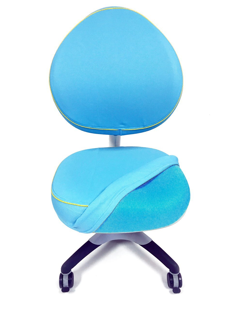 ApexDesk Little Soleil Series Soft, Removable, Washable 2-Piece Seat/Backrest Cover for Children's Chair (Seat/Backrest Cover, Blue)
