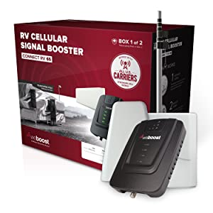 camper van cell phone signal booster