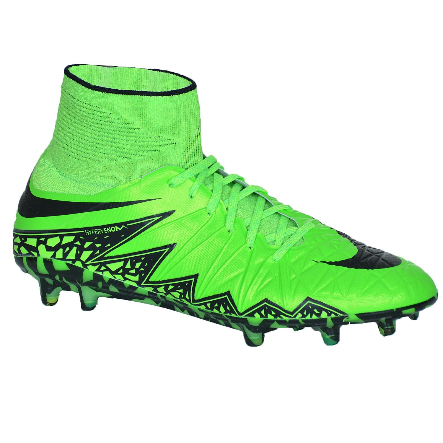 separation shoes 15be0 f5d47 Amazon.com   Nike Hypervenom Phantom Ii Firm Ground  Green Strike    Soccer