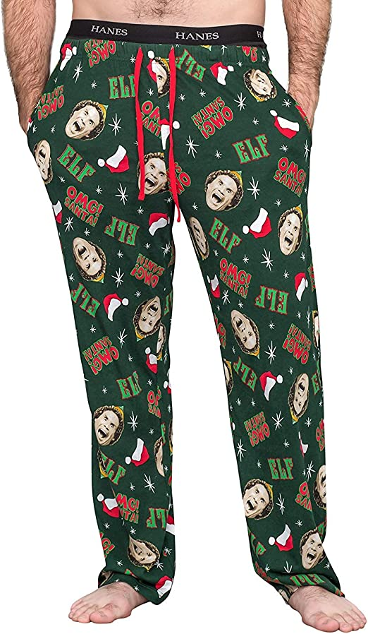 Underboss A Christmas Story Movie Mens//Unisex Lounge Pants Black Pajama Bottoms