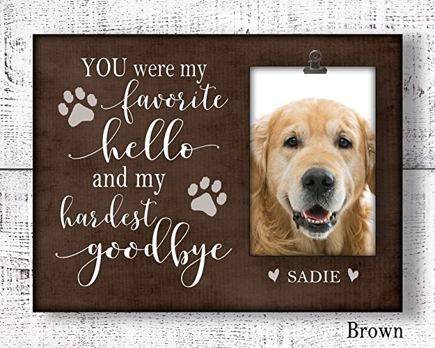 Image Unavailable. Image not available for. Color: Pet sympathy gift, loss ...