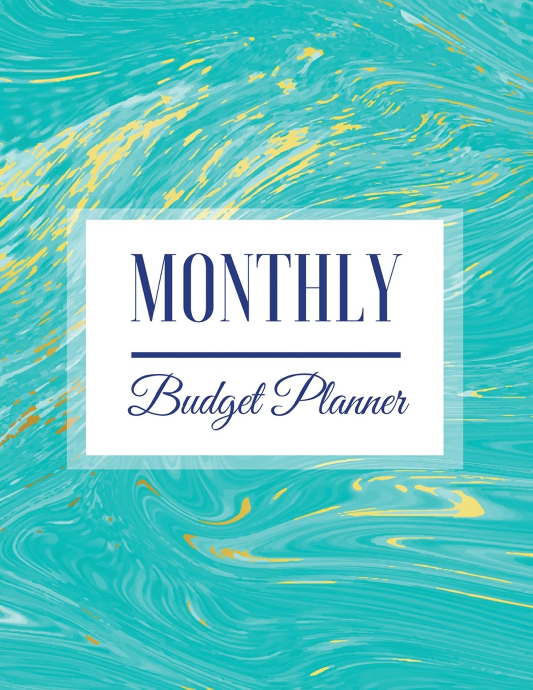 Monthly Budget Planner: Blue Marble Design Budget Planner Book With Calendar 2018-2019 Income List, Monthly Expense Categories and Weekly Expense ... Budget Planner and Bill Tracker) (Volume 44) ebook