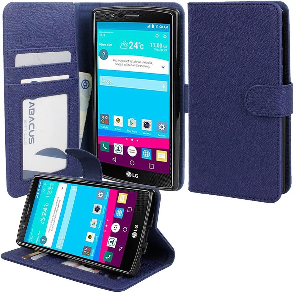 Funda abacus LG G4 24-7 LG G4 regenerado de tu funda cartera con Tapa con función del libro-estilo: Amazon.es: Electrónica