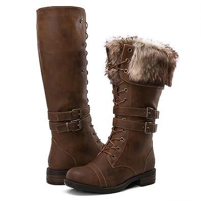 2acc3a54e2d53 GLOBALWIN Women's Fashion Winter Boots (5.5 D(M) US Women's, YY02Camel)