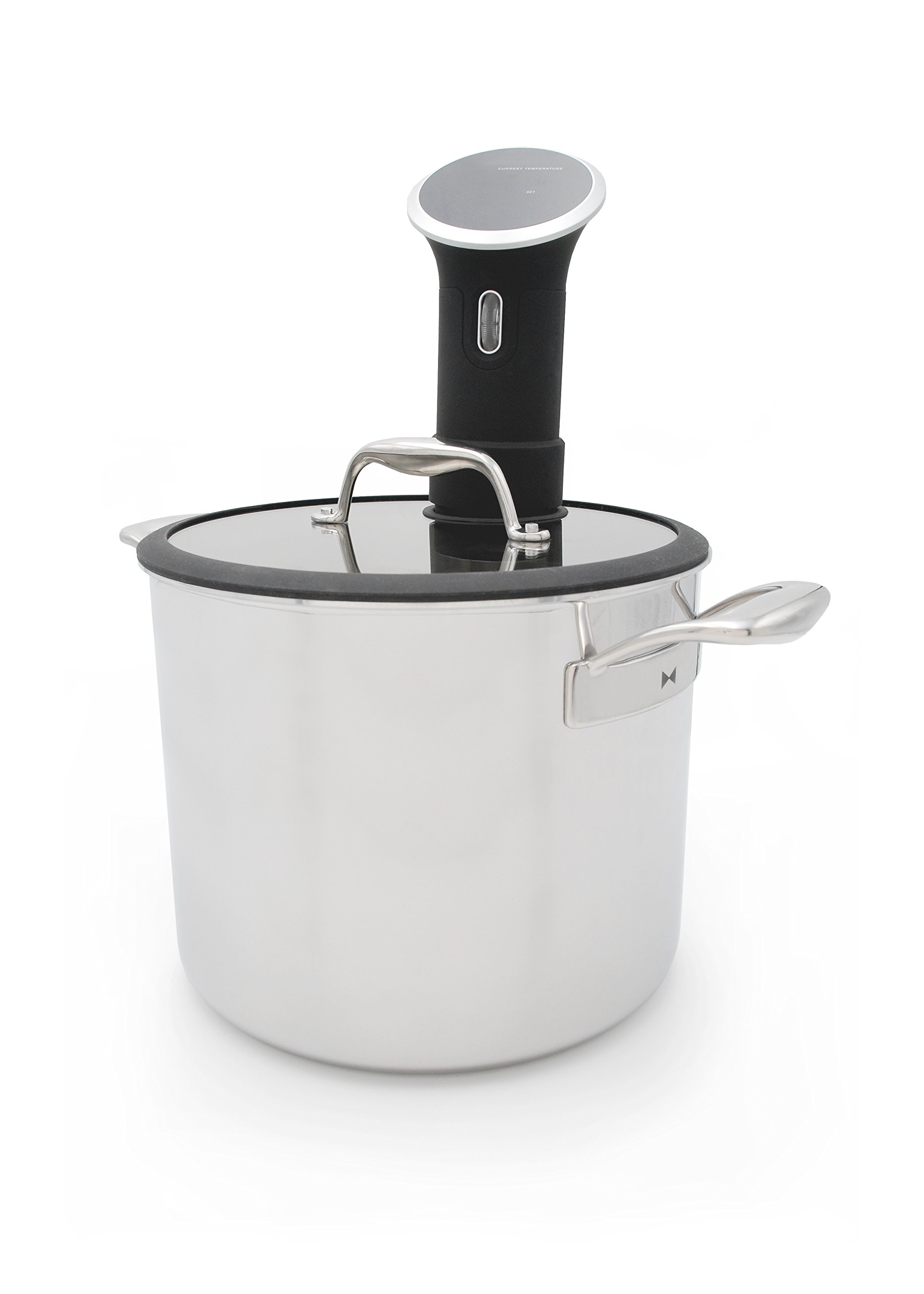 Tuxton Home THBCZ3-SS9-G Chef Series Sous Vide Pot Specialty Stockpot, 9.8 quart, Stainless steel by Tuxton Home (Image #1)