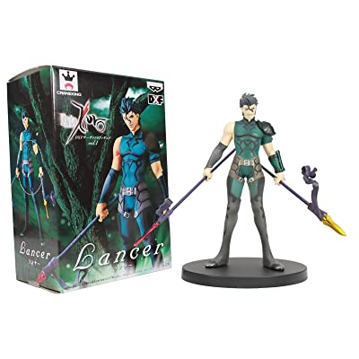 "Banpresto 6"" Lancer 48169 Fate Zero DXF Servant Figure Banpresto Action Figure: Toys & Games"