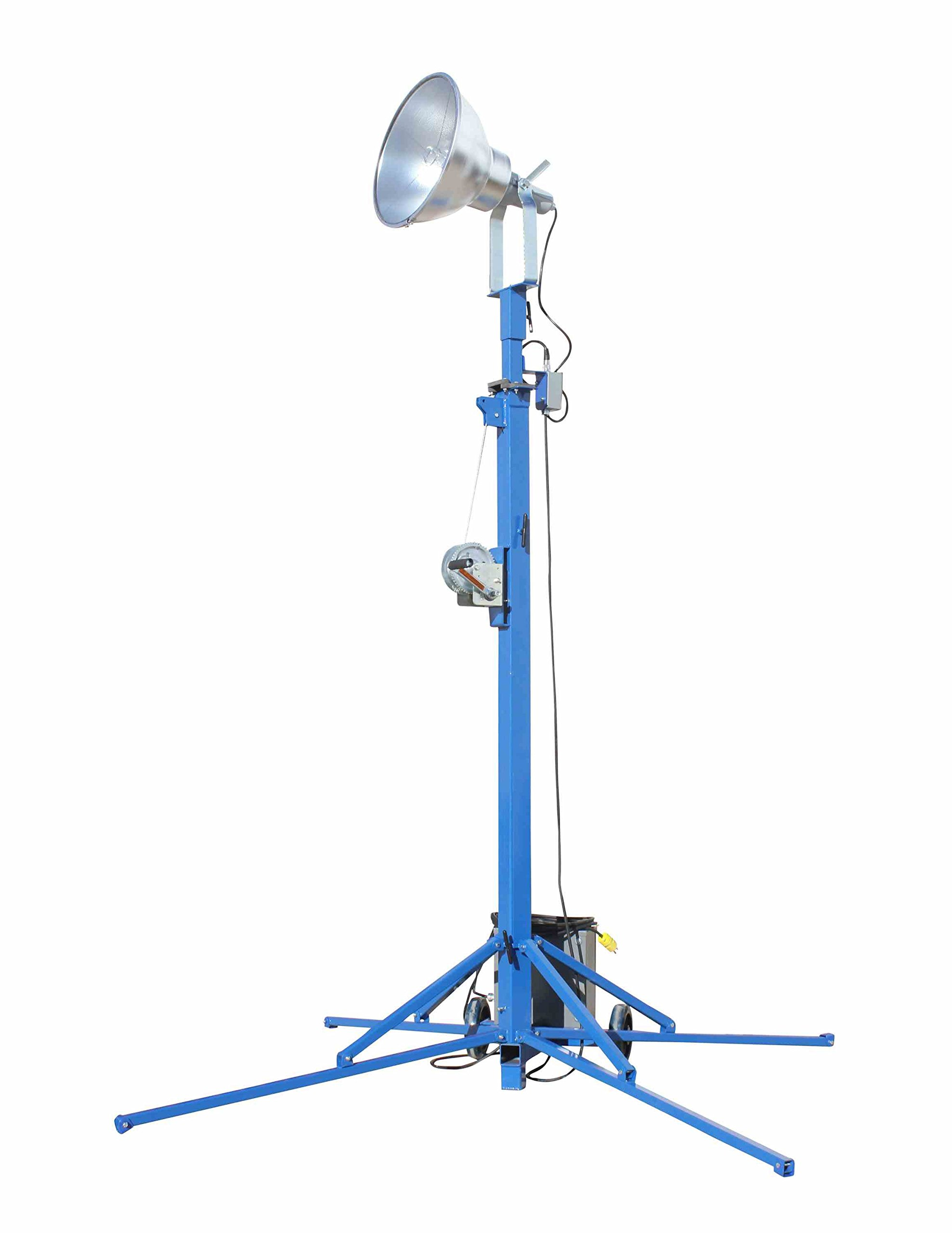 Portable Light Tower - 1000 Watt Metal Halide - Covers 23,000 SF - Extends to 12 feet(-240 Volts) by Larson Electronics (Image #6)