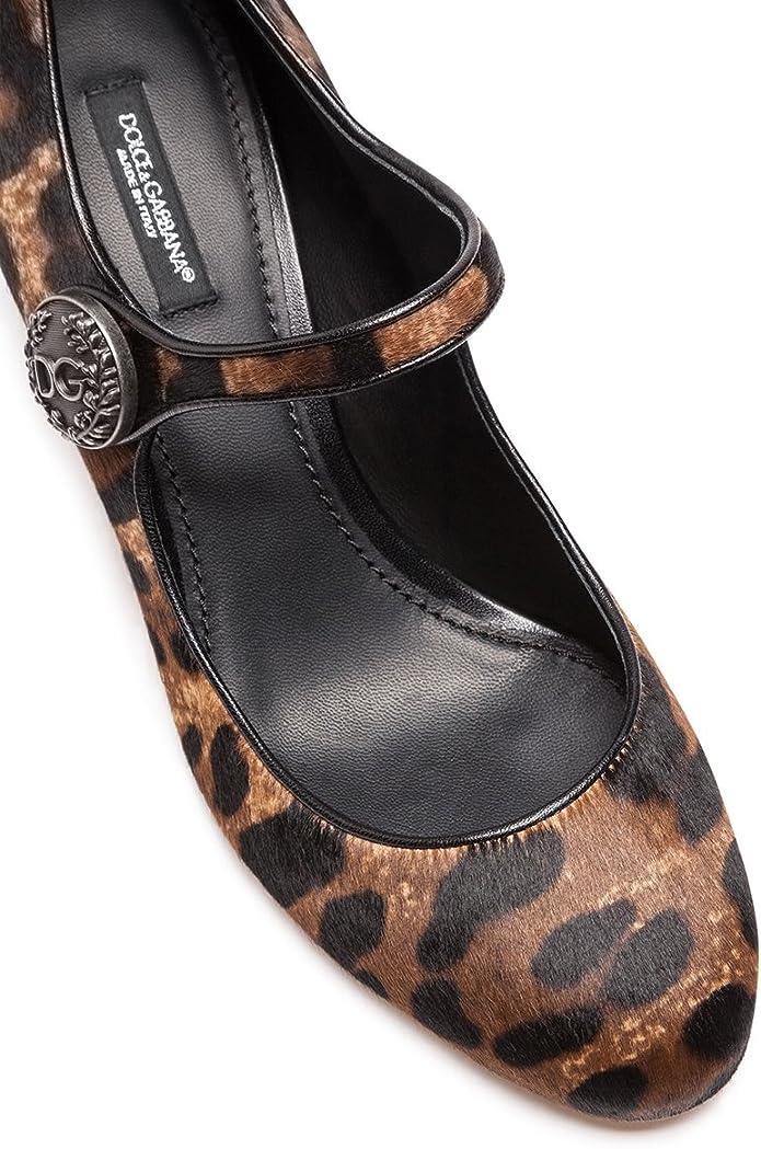 Dolce & Gabbana Mary Janes en Cuir Type