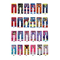 BUY ONE GET ONE FREE baby toddler boy girl unisex leggings tights trousers pants (80 6-12 months, design 7)