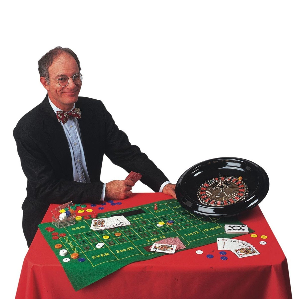16'' Roulette and Blackjack Set