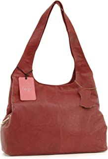 Gigi - Women's Leather Shoulder Bag - OTHELLO 4326