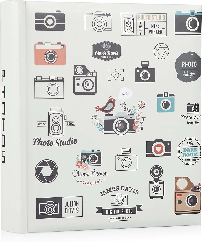 Hofmann Snap Happy - Álbum de fotos (15,2 x 10,9 cm, 200 unidades)