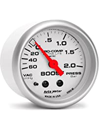 "Auto Meter 3987-M Sport-Comp 3-3/8"" 190 KPH Speedometer"