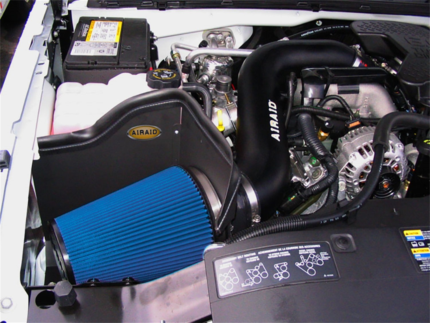 Airaid 203-167 AIRAID Cold Air Dam Intake System