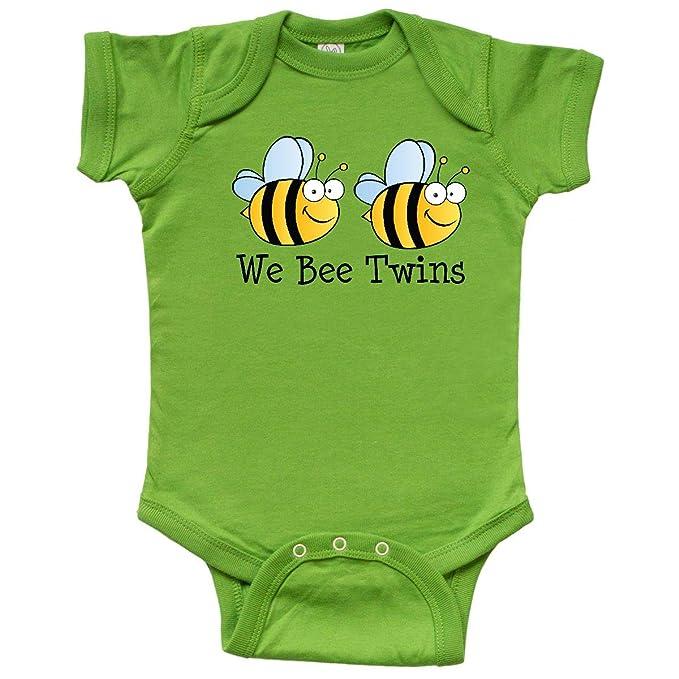 Amazon.com: inktastic We Bee – Gemelos Infant Creeper: Clothing